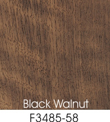Black Walnut Plastic Laminate Selection