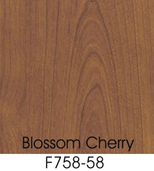 Blossom Cherry Plastic Laminate Selection