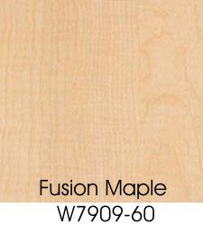 Fusion Maple Plastic Laminate Selection